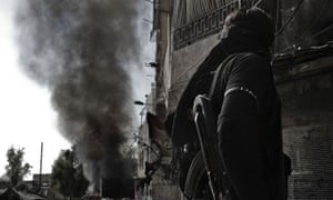 Syrian rebel fighter Aleppo