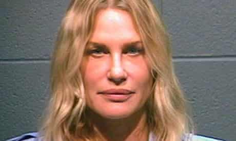 Daryl Hannah, photographed after being arrested in Wood County, Texas