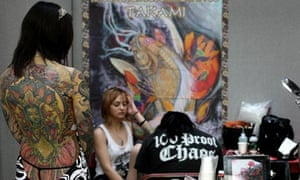 he International Tattoo Convention in 2011.