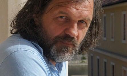 Emir Kusturica in Andricgrad