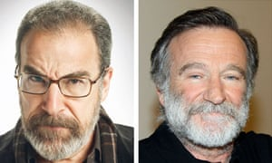 Mandy Patinkin and Robin Williams … screen brothers in Homeland?