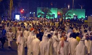 Kuwait demonstrations