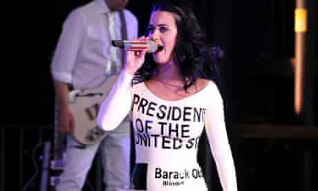 Katy Perry, the human ballot paper.