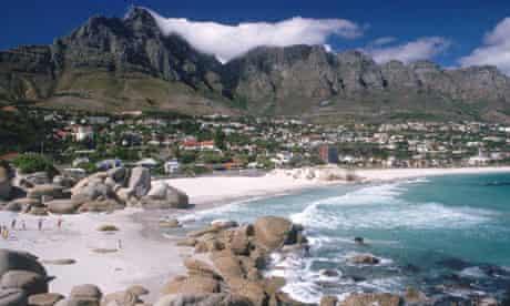 A beach in Cape Town, South Africa