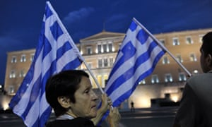 Protest in Athens, Greece