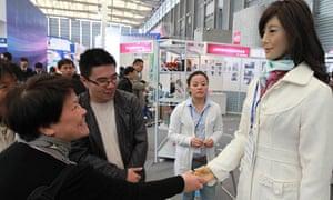 Shanghai robots industry fair