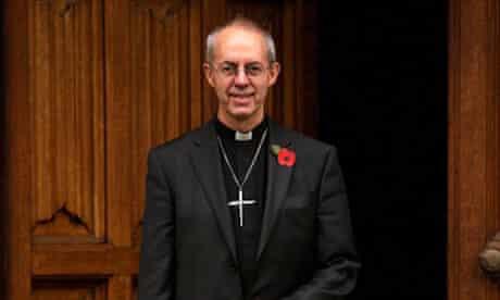 Justin Welby, archbishop of Canterbury, November 2012