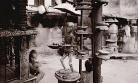 Skeleton, Shrine, Kathmand