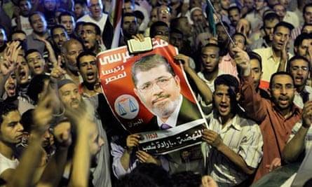 Mohamed Morsi supporters