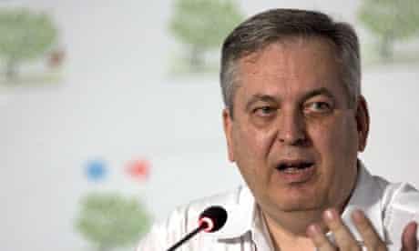 Luiz Alberto Figueiredo Machado, one of the lead negotiators at the Doha climate change conference