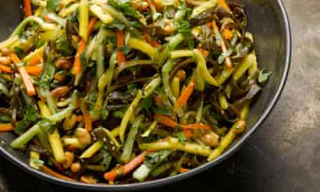 Yotam Ottolenghi's seaweed, ginger and carrot salad