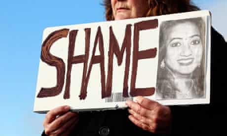 Savita Halappanavar protest