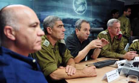 Israel defence minister Ehud Barak