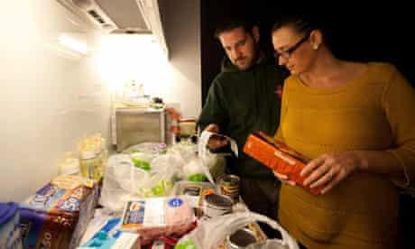Nicola Probert and her husband Tony