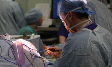 Surgeon at an operating theatre