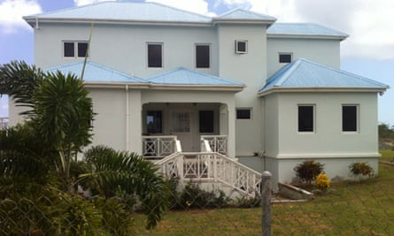 Home of Sarah Petre-Mears on Nevis