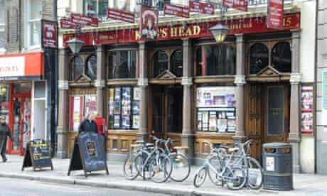 The King's Head in Islington, north London