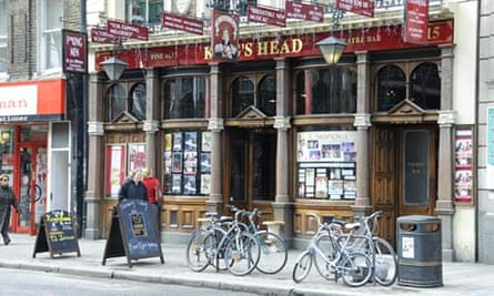 The King's Head in Islington, north London
