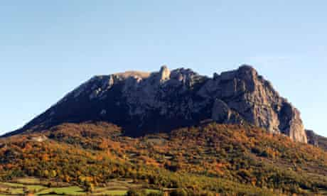 Bugarach peak, which some believe will be spared the apocalypse.