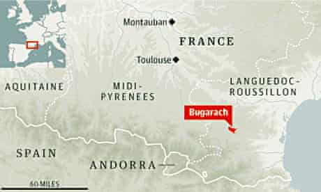 Bugarach, in the French Pyrenees.