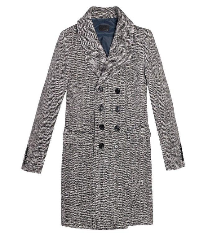 8472d40c Fashion buy of the day: Zara's herringbone coat for men | Fashion ...