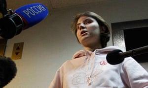 Pussy Riot's Yekaterina Samutsevich