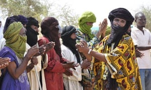 Tuareg refugees in Burkina Faso. Conflict in Mali has forced 260,000 Malians to flee since March.