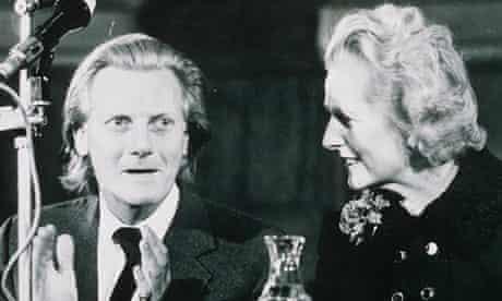 Heseltine with Margaret Thatcher in 1975.