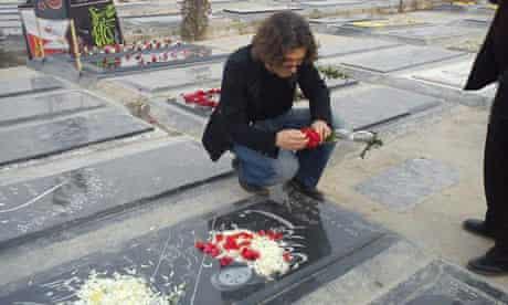 Iranian student activist Arash Sadeghi