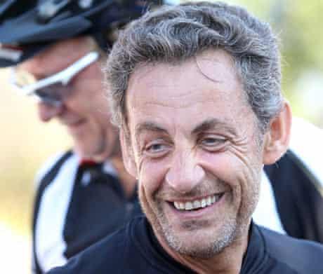 Nicolas Sarkozy with a beard.