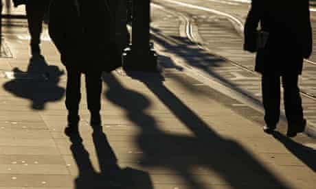 Pedestrians in Manchester. Walking or cycling should be the norm for short journeys, advises Nice