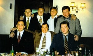Seated from left: Viktor Averin, Sergei Mikhailov and Andrei Skoch. Lev Kvetnoy is in the back row