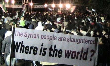 Syria protest