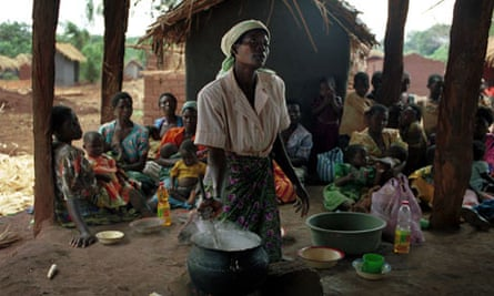 Learning about nutrition in Malawi