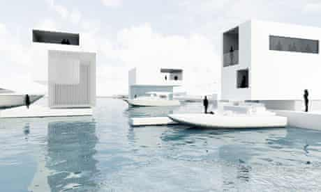 How the offshore resort island off Rimini and Riccione on Italy's Adriatic coast might look.