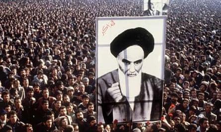 Ayatollah Khomeini poster 1979