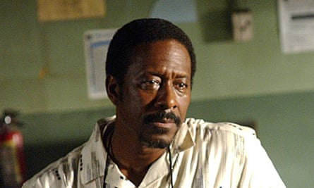 Clarke Peters as Lester Freamon in The Wire
