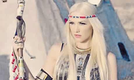 Gwen Stefani in No Doubt's Looking Hot video