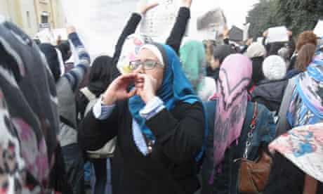 Nihal Saad Zaghloul … fighting back against harassment.