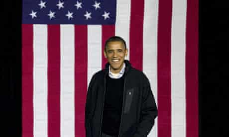 Barack Obama appearing in Aurora, Colorado, 4 November 2012
