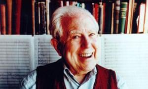 Composer Elliott Carter