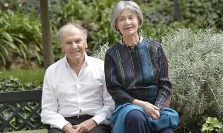 Jean-Louis Trintignant, 85, and Emmanuelle Riva, 81