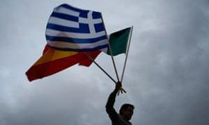 48hr Strike In Greece-Second Day
