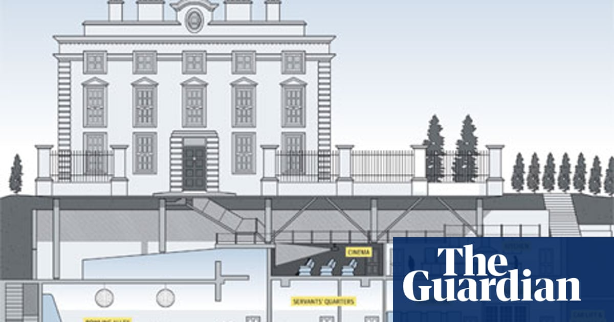 Billionaires' basements: the luxury bunkers making holes in London ...