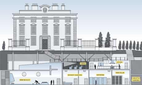 'Iceberg house' illustration