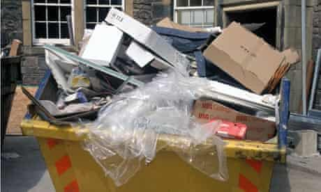 Illegal waste dumping and disposal can be a source of easy money.