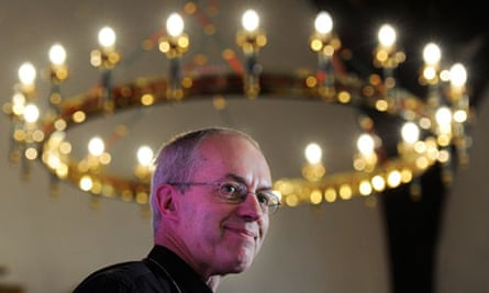 The new archbishop of Canterbury, Justin Welby.