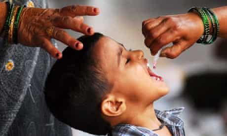 Polio vaccination in Mumbai