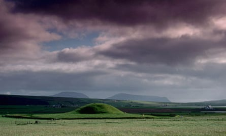 The neolithic burial mound of Maeshowe, Orkney