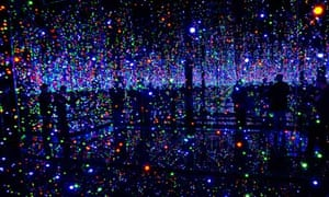 Yayoi Kusama's Tate Modern exhibition 2012 - Infinity Mirrored Room